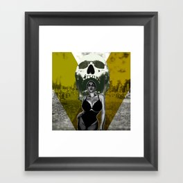 From Ashes Rise - Grave Robbers Outer Space B Movie Poster Tribute Framed Art Print