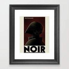 CASSANDRE SPIRIT - Iron Noir Framed Art Print