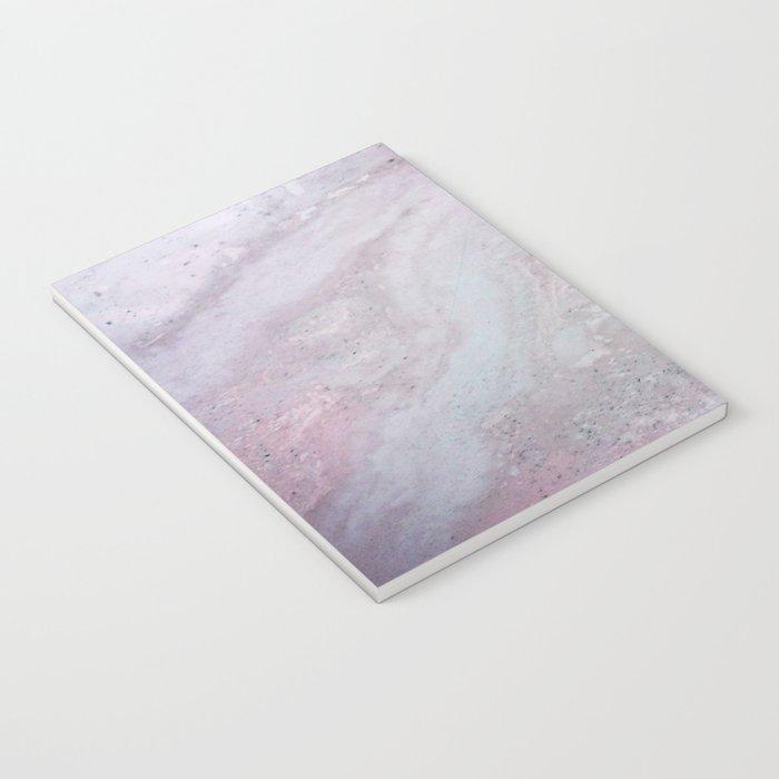 Elegant Pink Polished Marble Notebook