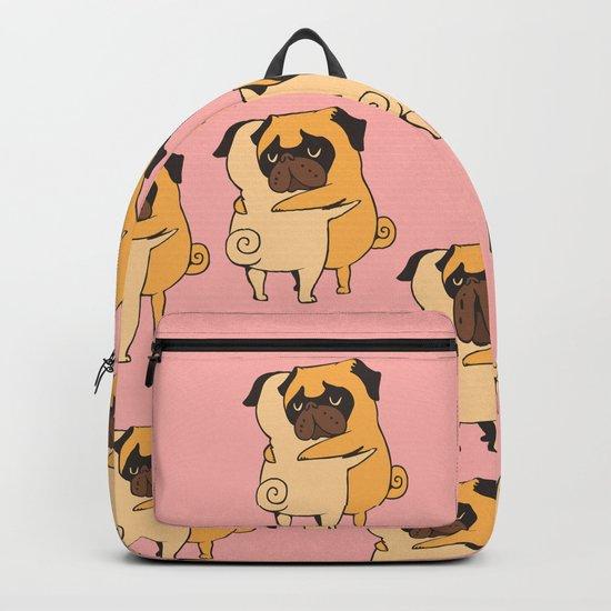 Pug Hugs Backpack