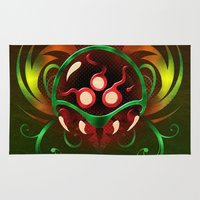 metroid Area & Throw Rugs featuring Metroid by likelikes