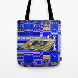 processor cpu board circuits Tote Bag