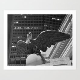 Stone Eagle Art Print