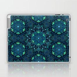 Mandala_Cerulean Laptop & iPad Skin