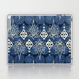 lotus diamond indigo Laptop & iPad Skin