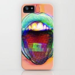 LSD Kiss iPhone Case