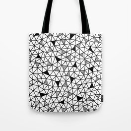 abstract triangle pattern Tote Bag