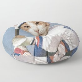 Montreal 'Chat'pos Floor Pillow