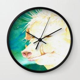 QUEEN BAQUES Wall Clock