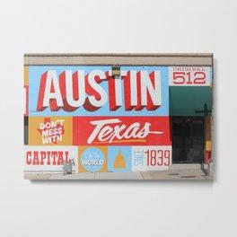 Austin, TX Metal Print