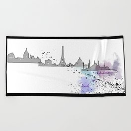 Travel, Space and Architecture  Beach Towel