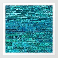 :: Tropical Sea :: Art Print