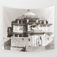 india Wall Tapestries featuring Exotic Dreams India   by CrypticFragments Design
