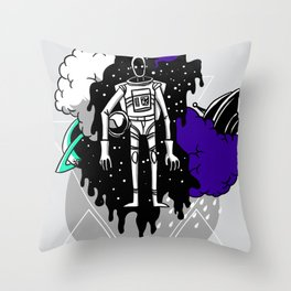 In Search Above Throw Pillow
