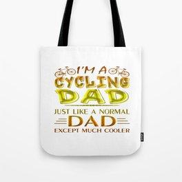 CYCLING DAD Tote Bag