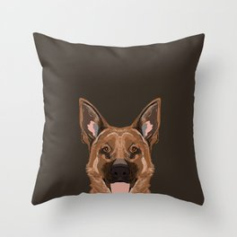 Skylar - German Shepherd gifts for dog people dog lover gifts german shepherd owners perfect gifts  Throw Pillow