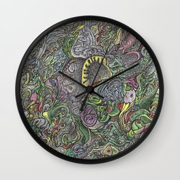 Fantastic Forest Wall Clock