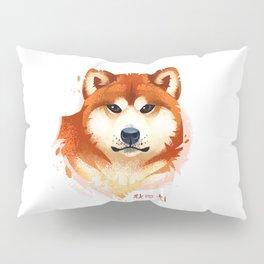 Akita Stylistic Portrait Pillow Sham