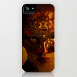 Bal Masque iPhone Case