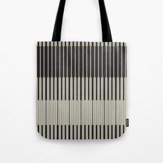 Piano Man | Abstract Pattern Tote Bag