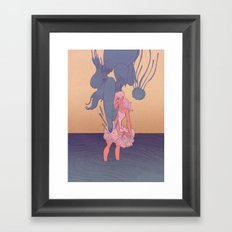 Liquid Creatures Framed Art Print