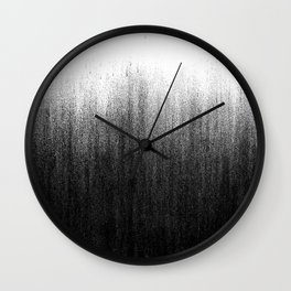 Charcoal Ombré Wall Clock