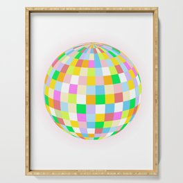 Colourful Ball Serving Tray