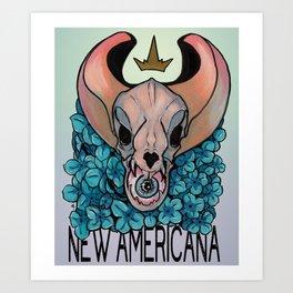 New Americana Art Print