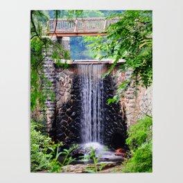 Biltmore Waterfall Poster