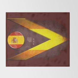 Spain Throw Blanket