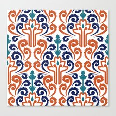 Adobe Damask Canvas Print
