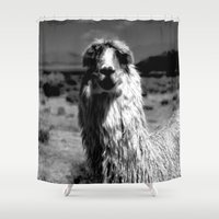 peru Shower Curtains featuring Peru Journey NO2 by Julia Aufschnaiter