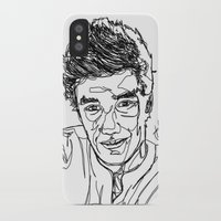liam payne iPhone & iPod Cases featuring Liam Payne by Hollie B