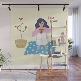 Self love Wall Mural