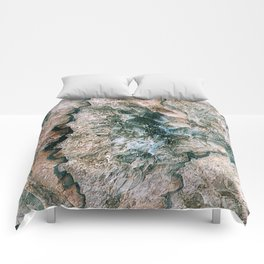 Agate Abstract Comforters
