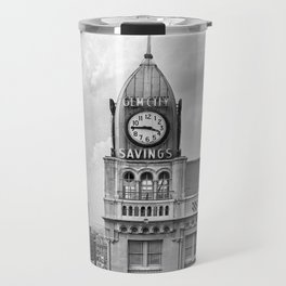 The Gem City Clock Travel Mug