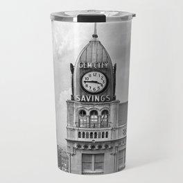 The Gem City Clock Travel Mug
