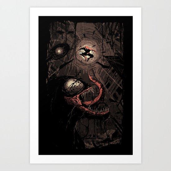 Element of Surprise Art Print