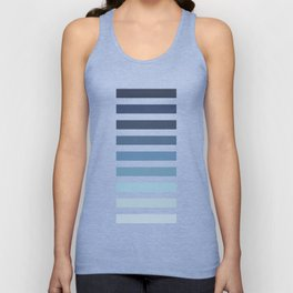 Sky and Water Blue Palette Unisex Tank Top