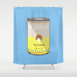 My Neighbor Toto ro - Miyazaki - Special Soup Series  Shower Curtain