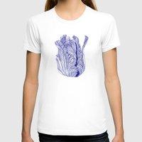 tulip T-shirts featuring Dark tulip by Annike