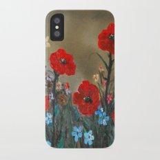 Impasto Poppy Love - Talins Poppy Love Slim Case iPhone X