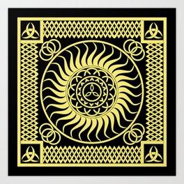Celtic_001 Art Print