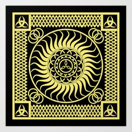 Celtic_001 Art Print