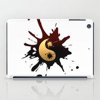 ying yang iPad Cases featuring Ying-Yang by Jessica Jimerson