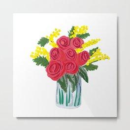 Romantic bouquet Metal Print