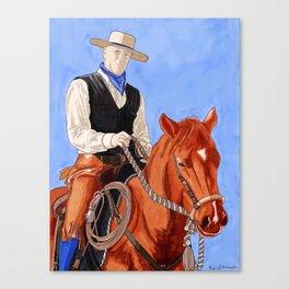 Horse & Rider  Canvas Print