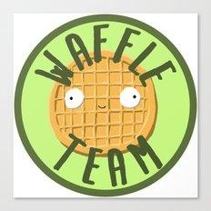 Waffle Team Canvas Print