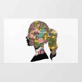 Flowery Girl Rug