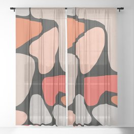 Shape Study II Sheer Curtain